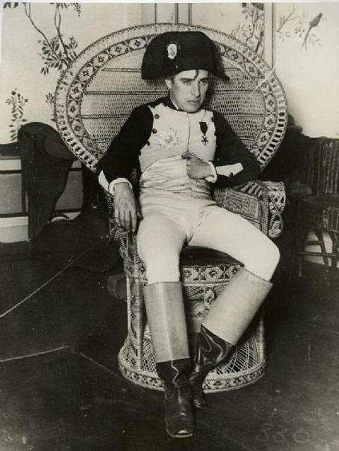 Charlie Chaplin as Napoleon Bonaparte