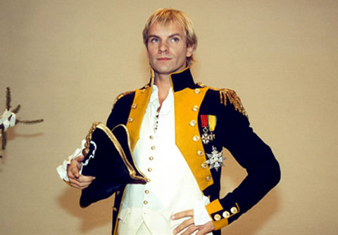 Sting as Napoleon Bonaparte